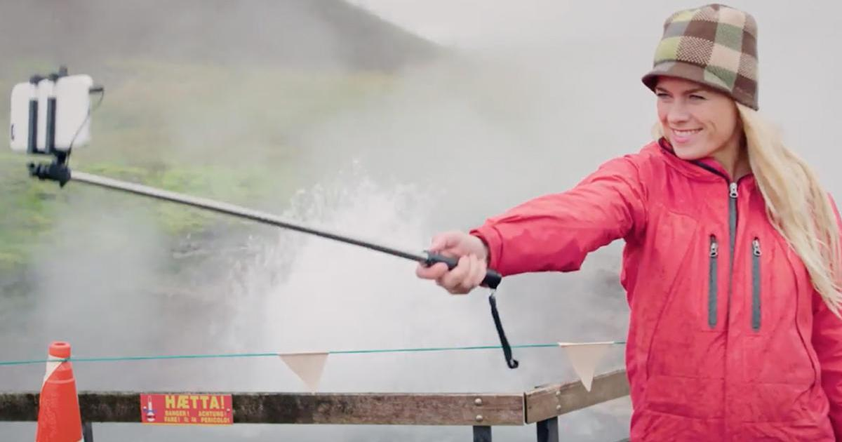 Исландия привлекает туристов уроками безопасных селфи.
