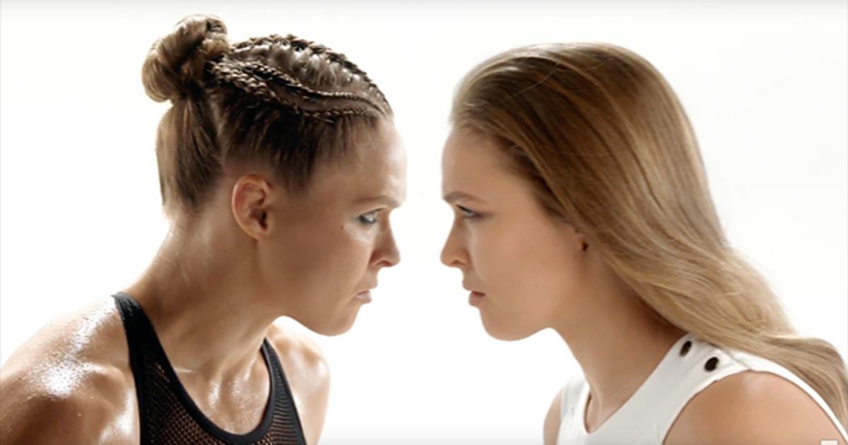 Боец UFC Ронда Роузи разрушает стереотипы в рекламе Pantene.