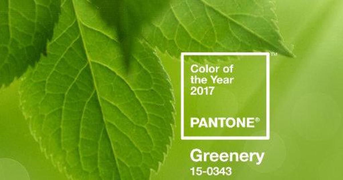Pantone выбрал жизнеутверждающий цвет 2017 года.