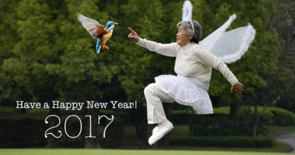 Adobe назначила 88-летнюю японку арт-директором новогодних открыток.