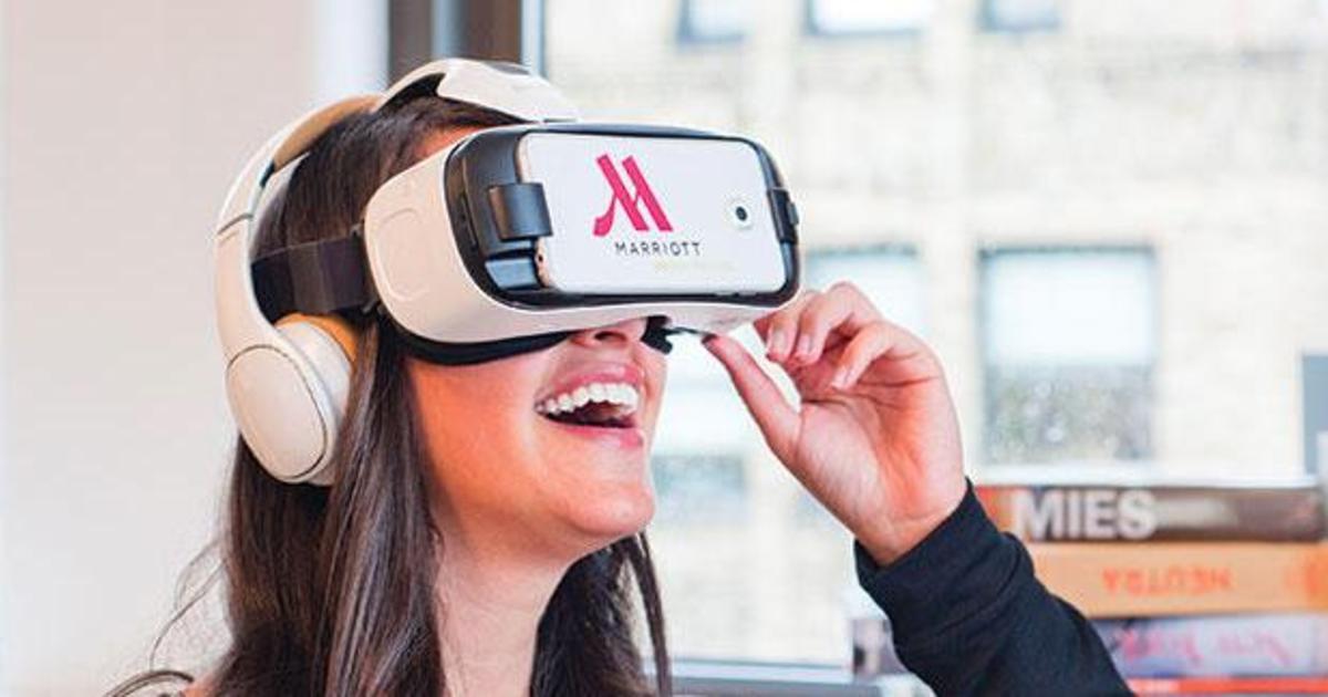Сеть отелей поощряет к путешествиям с помощью 360-градусных открыток.
