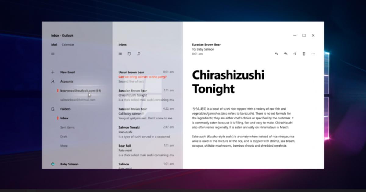 Microsoft разрабатывает обновленный дизайн интерфейса Windows 10.