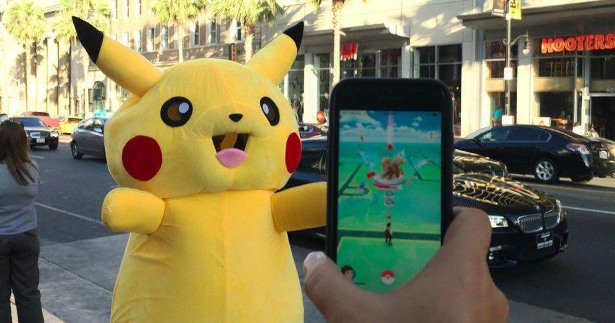 В Китае запретили Pokémon Go.