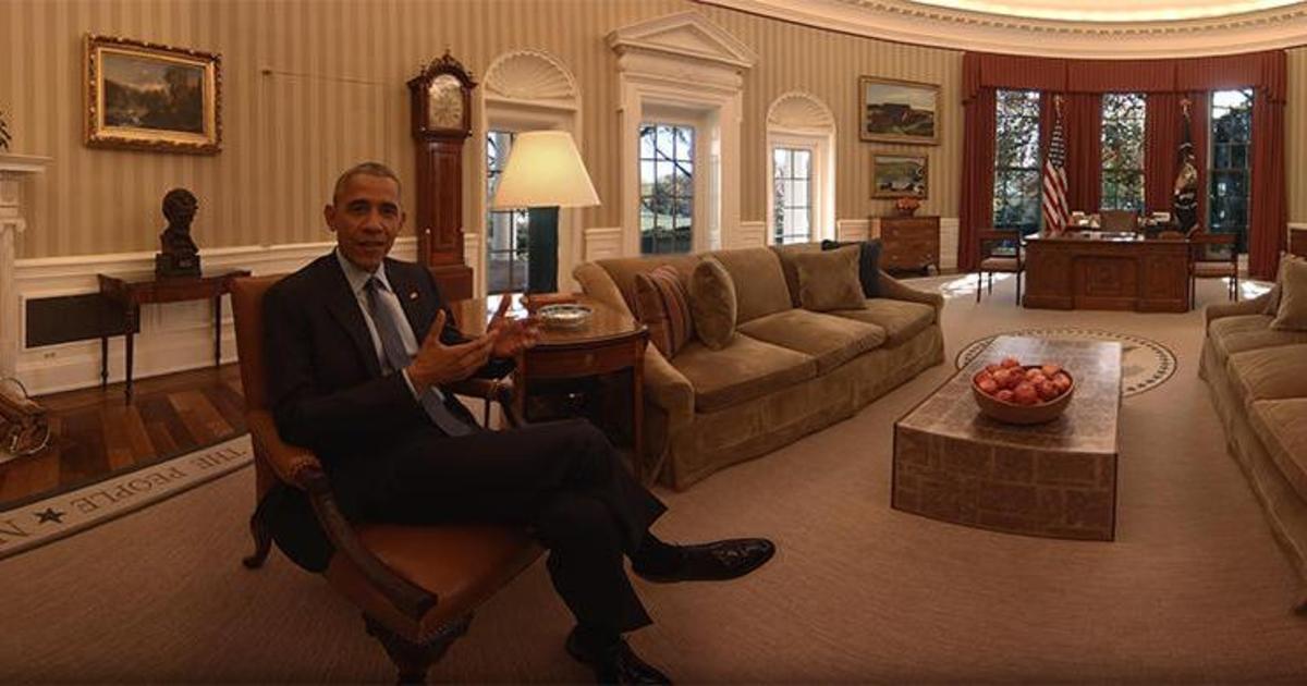 VR-видео дня: прогулка по Белому Дому с Обамой.