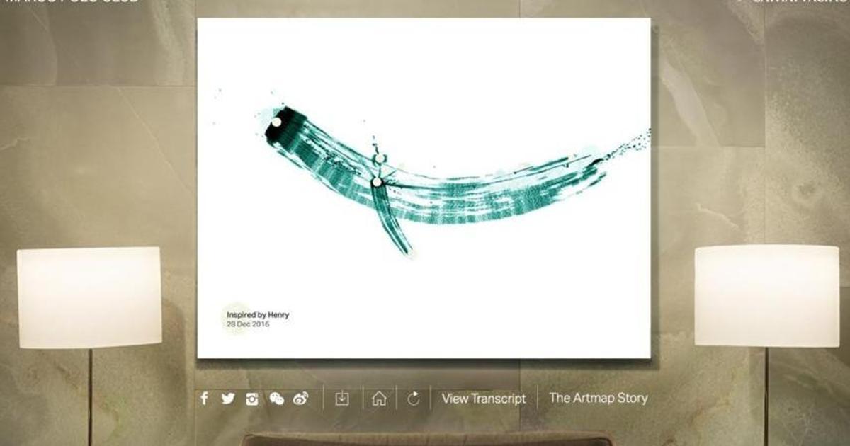 Авиаперевозчик превратил историю о полетах лояльных клиентов в картины.