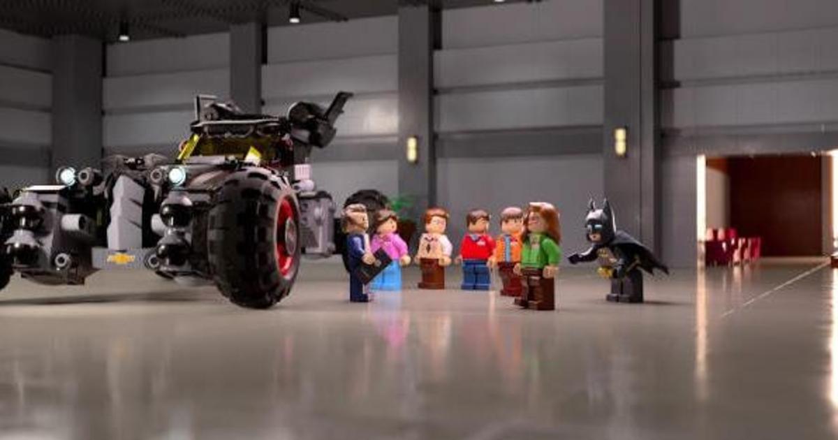 Chevrolet собрал бэтмобиль из кубиков Lego.