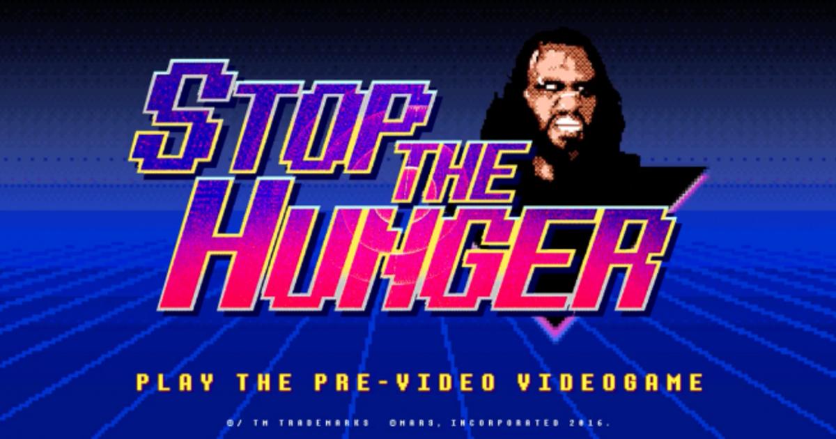 Голодные игры: Snickers превратил пре-роллы в видеоигру.