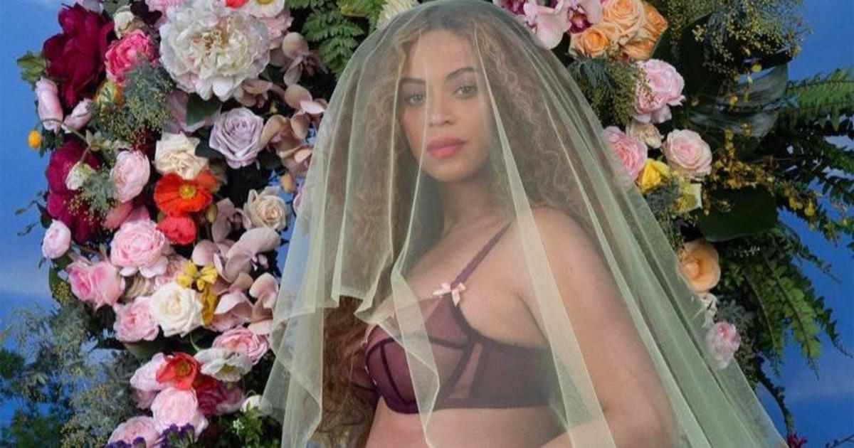 Бейонсе объявила о своей беременности в белье от Agent Provocateur.