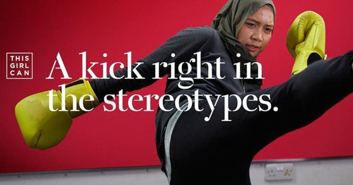 Sport England запустила новую кампанию, привлекая женщин к занятию спортом.