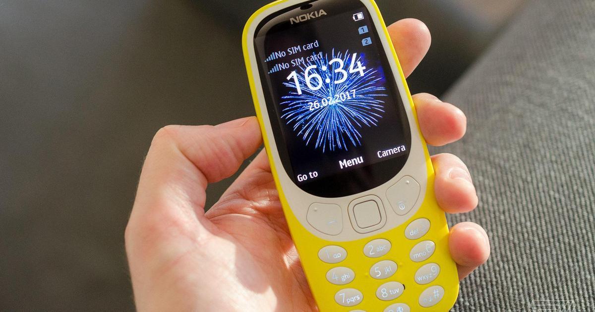 Легендарная Nokia 3310 вернулась.
