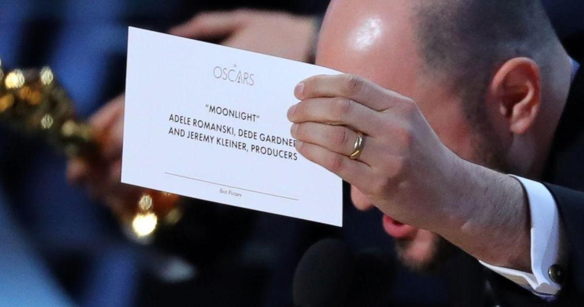 PwC извинилась за ошибку во время «Оскара».