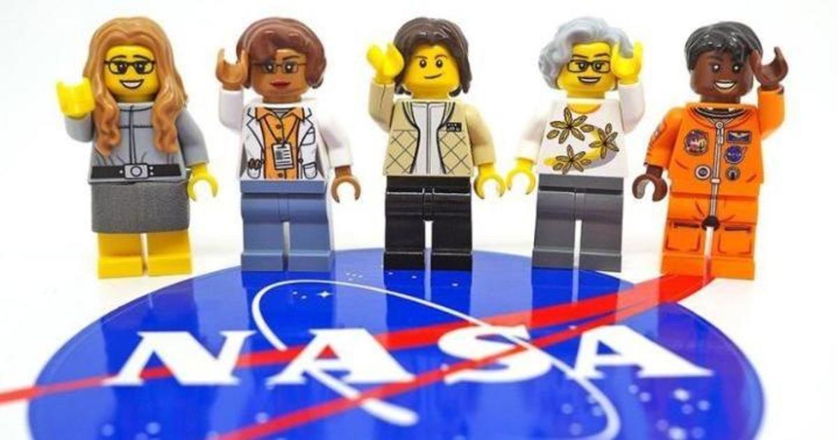 Lego увековечил женщин NASA.