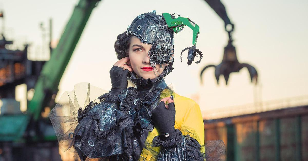 Фотосессия в духе стимпанк: ИНТЕРПАЙП показал женское лицо своих заводов.