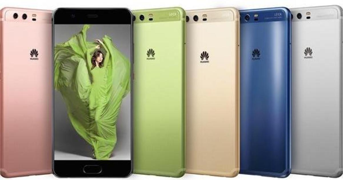 Huawei выпустит яркие смартфоны вместе с Pantone.