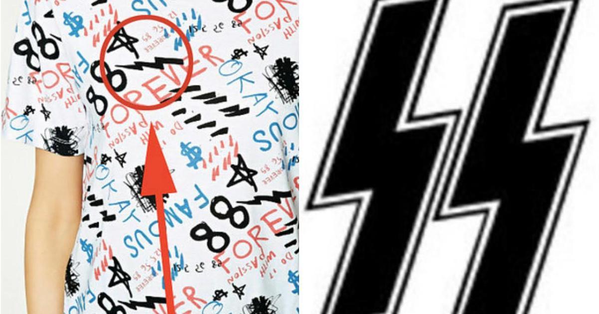 Forever 21 обвинили в использовании нацистских символов в одежде.