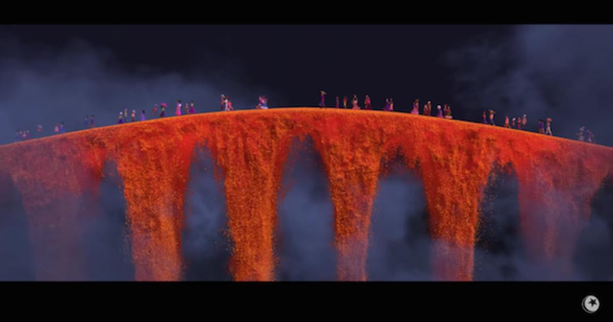 Вышел трейлер нового мультфильма Pixar.
