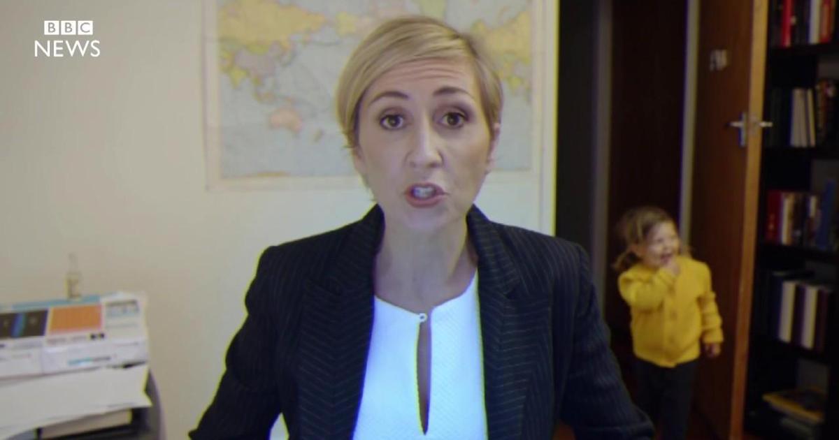 Видео дня: как справилась бы женщина на месте Роберта Келли в сюжете BBC.