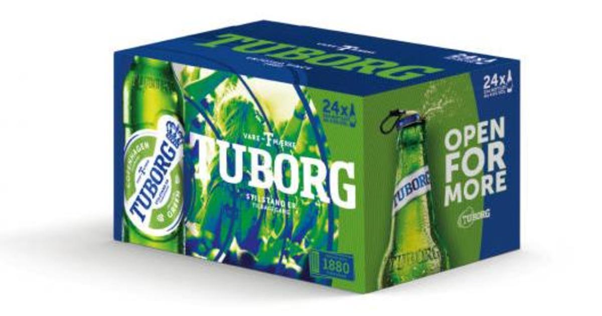 Tuborg проводит глобальный ребрендинг.