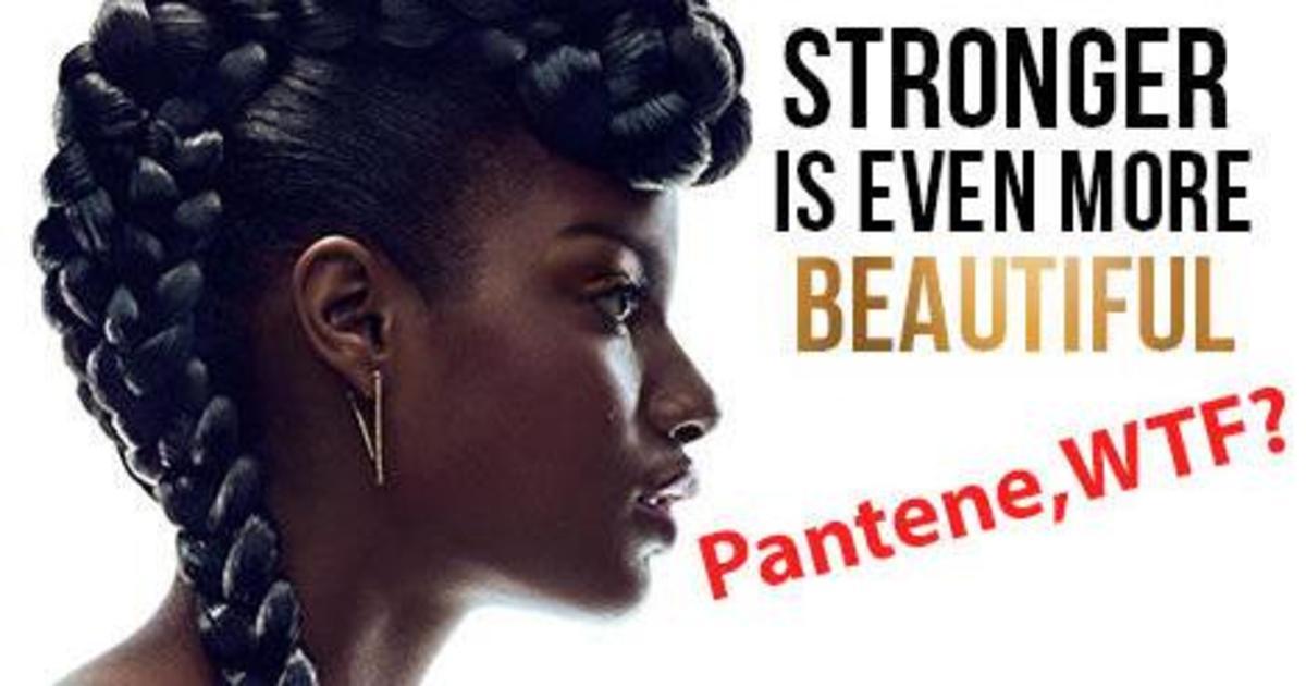 Pantene думает, что покаялась в дискриминации
