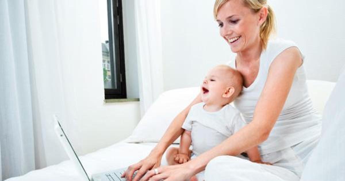 Исследование: чем занимаются digital-мамы в сети.