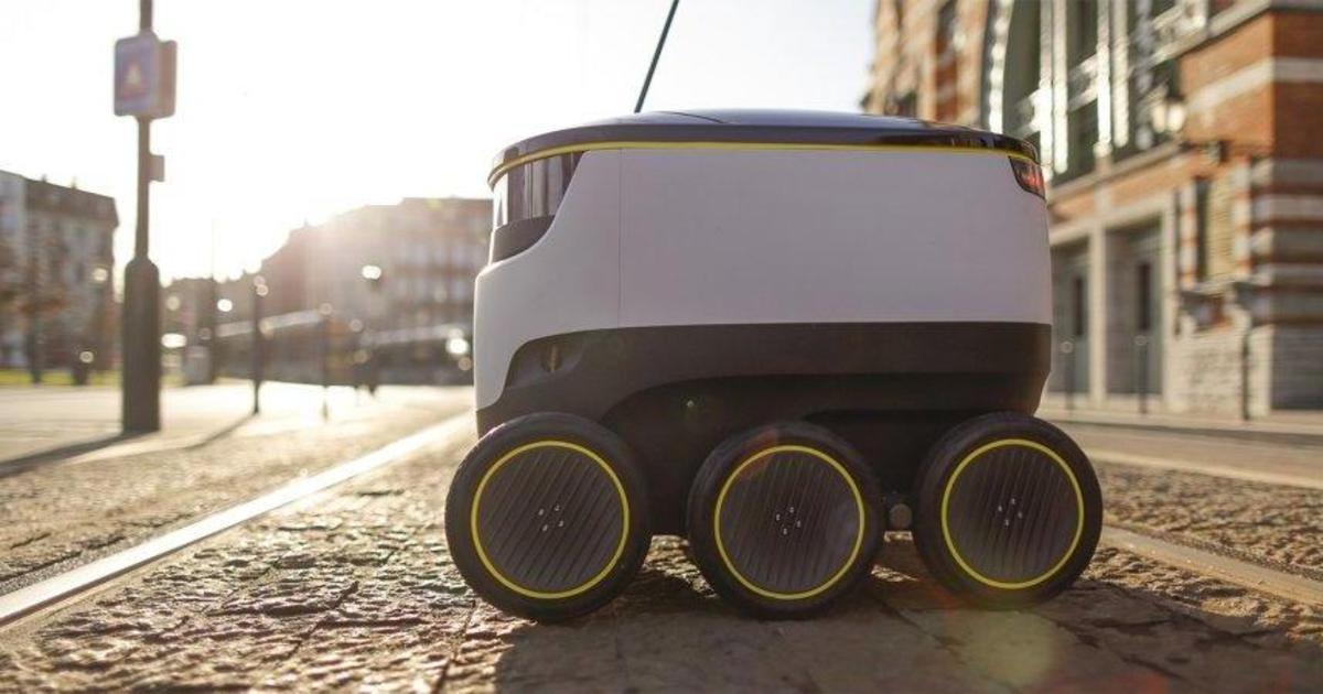 Domino's будет доставлять пиццу с помощью роботов в Германии.