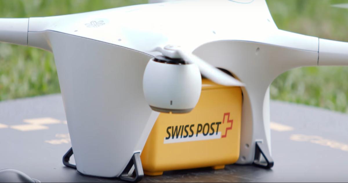 Дроны в Швейцарии будут доставлять биоматериал для анализов.