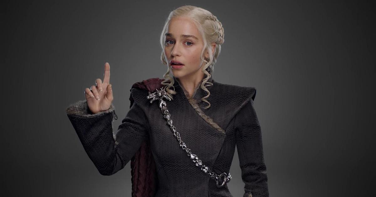 HBO запустил оригинальное промо канала и «Игры престолов»
