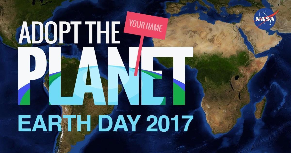 NASA виртуально раздает кусочки Земли для «усыновления».
