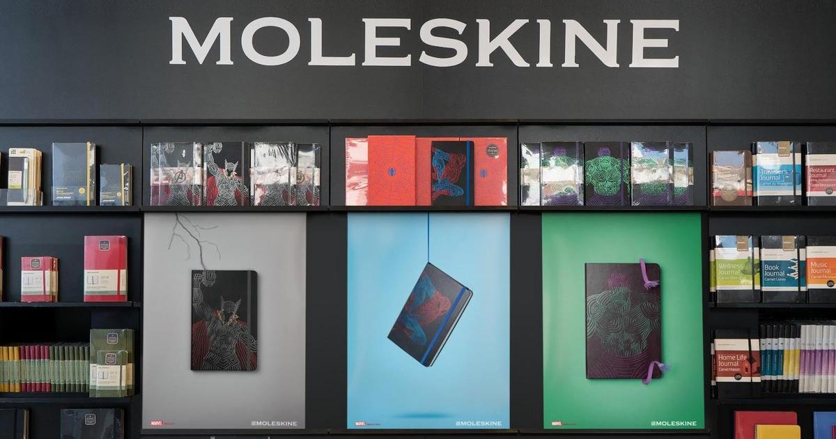 Moleskine выпустил супергеройские блокноты.