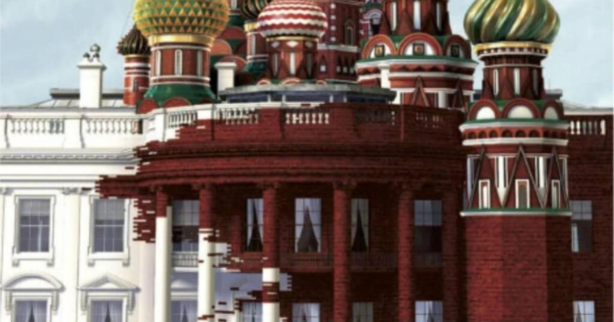 Русский храм поглотил Белый дом на обложке Time.