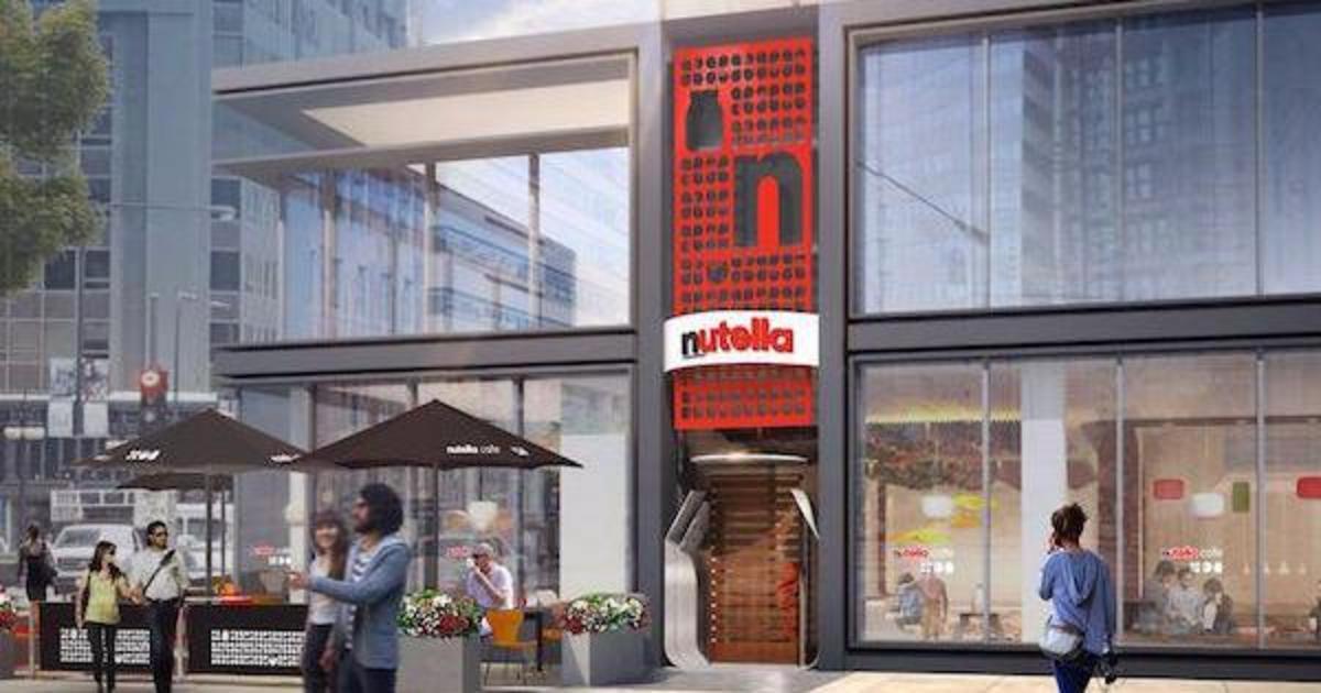 Nutella откроет первое кафе.