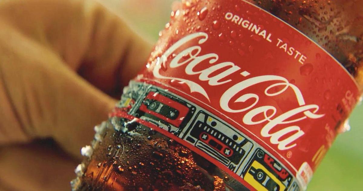 Coca-Cola превратила этикетки в браслеты с доступом на фестиваль.