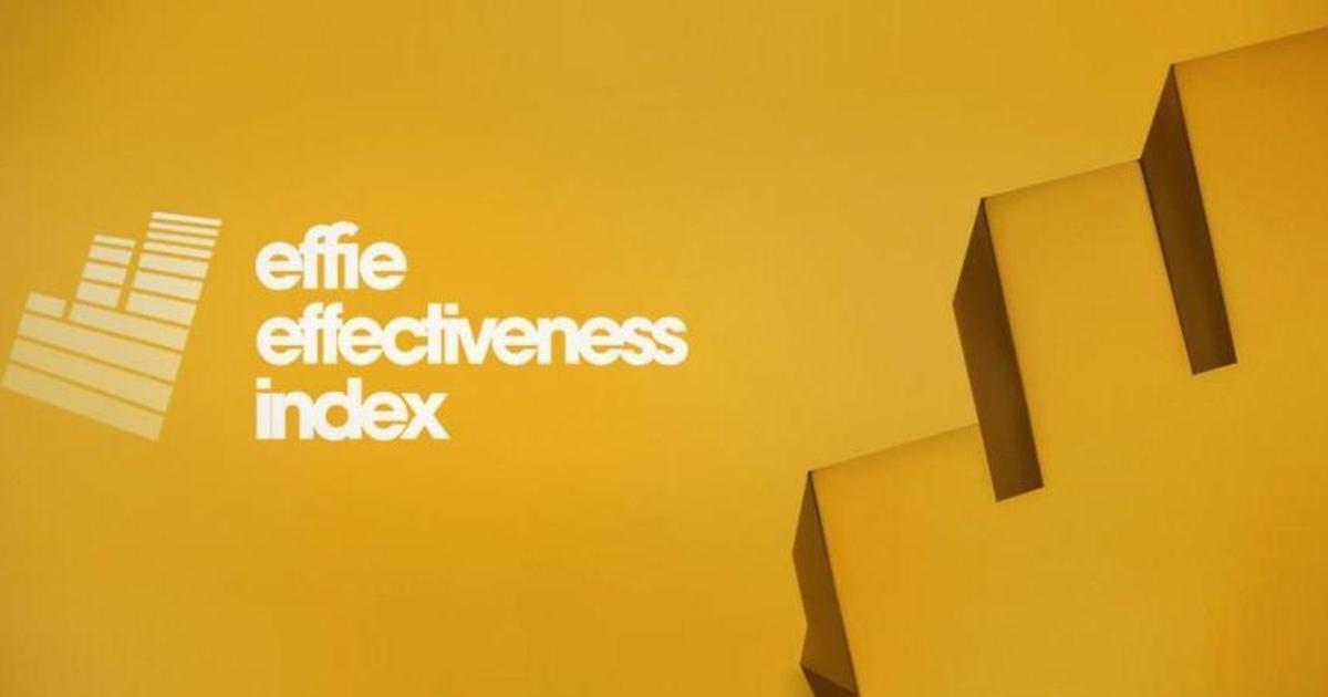 Украинское агентство вошло в топ-20 Effie Effectiveness Index 2017.