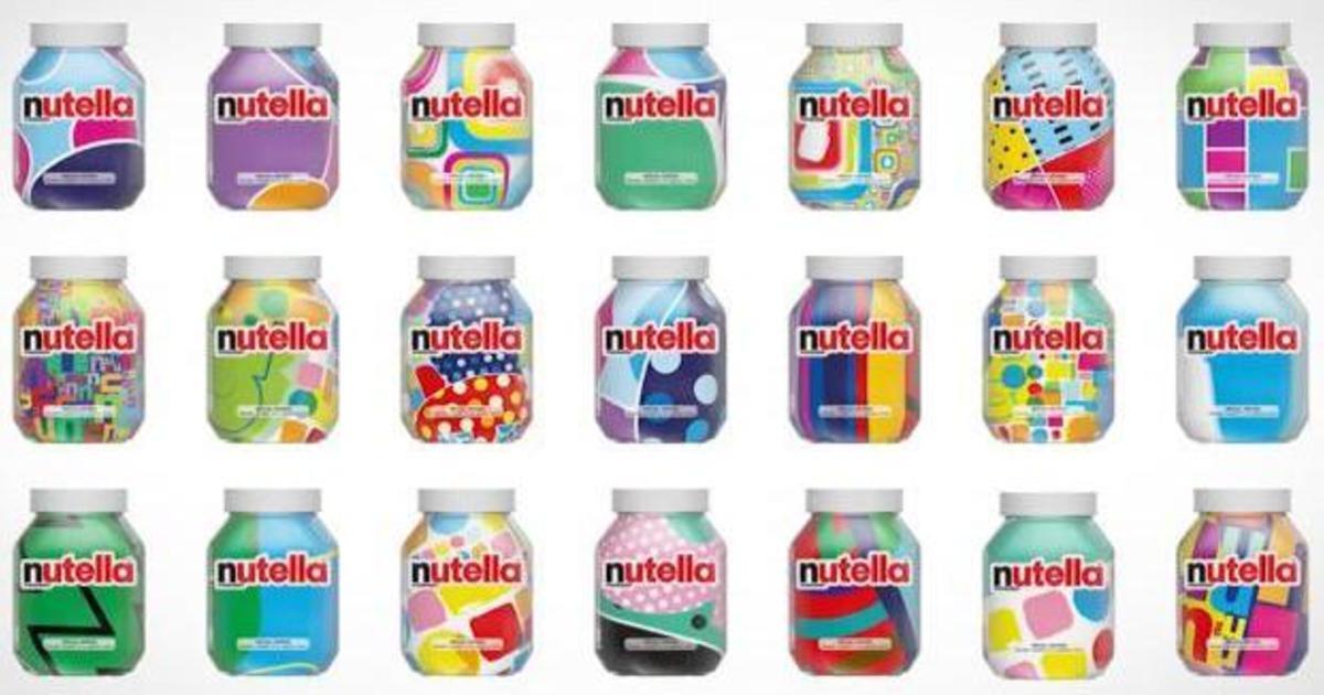 Nutella выпустила 7 млн банок с уникальными этикетками.