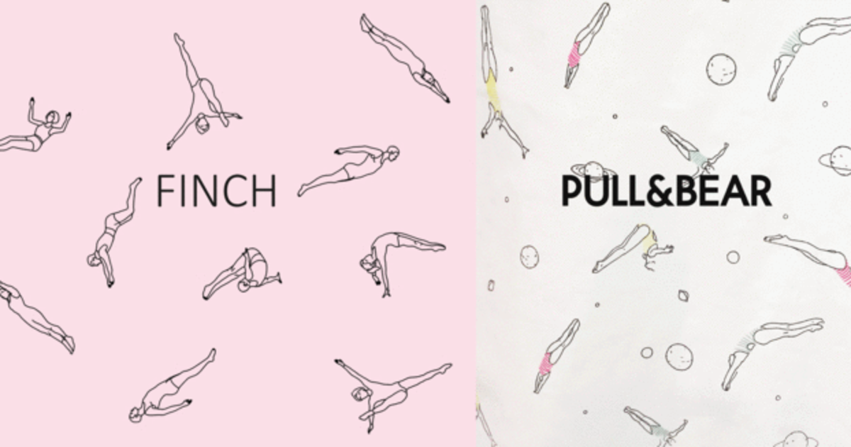 Украинский бренд FINCH обвиняет Pull and Bear в плагиате.