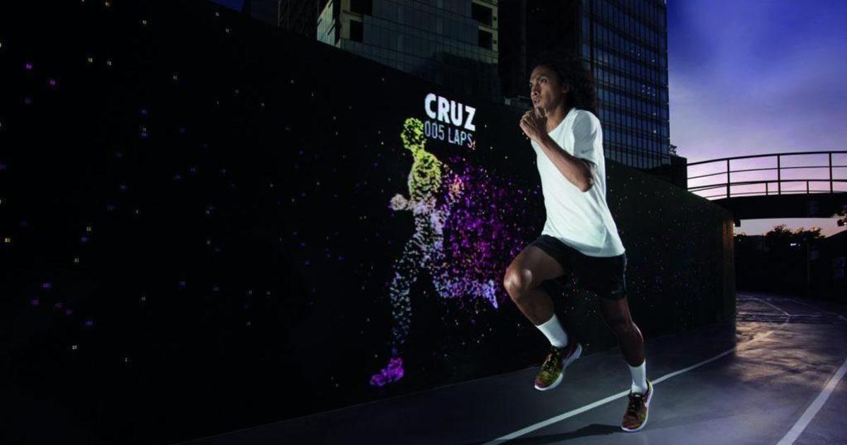 Nike бросил вызов бегунам, заставив соревноваться с digital-двойниками.