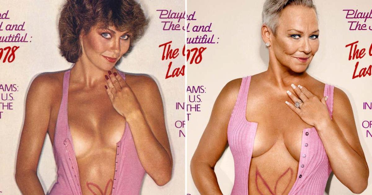 Модели Playboy воссоздали культовые обложки 30 лет спустя.