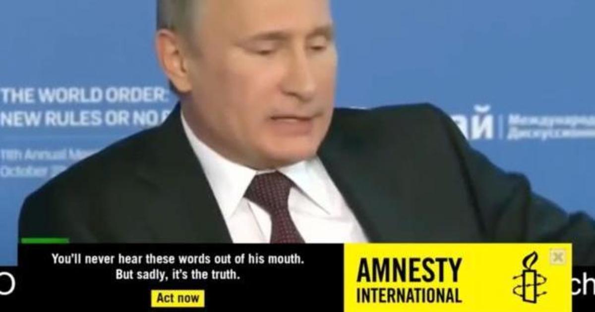Политики начали говорить правду с помощью баннерной рекламы в YouTube.