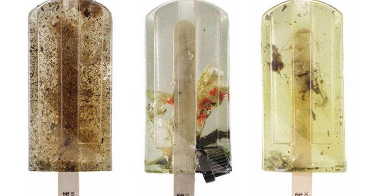 Токсичное мороженое продемонстрировало уровень загрязнения воды.