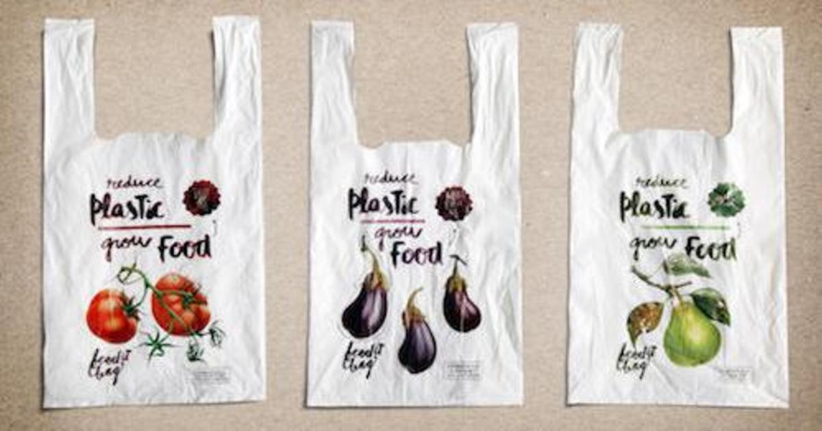 Cheil изобрели пакет для супермаркета, который превращается в компост.
