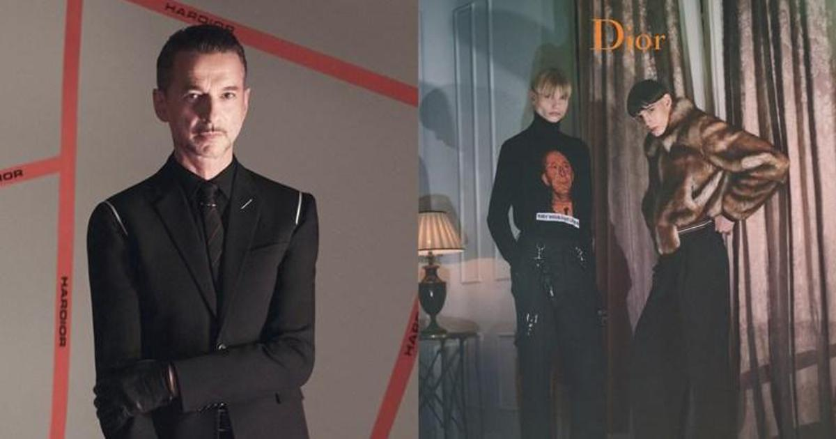 Фронтмен Depeche Mode снялся в рекламной кампании Dior Homme.