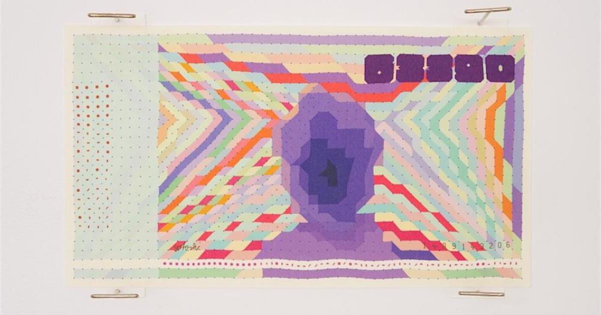 Американский художник превратил криптовалюту биткоин в купюру.