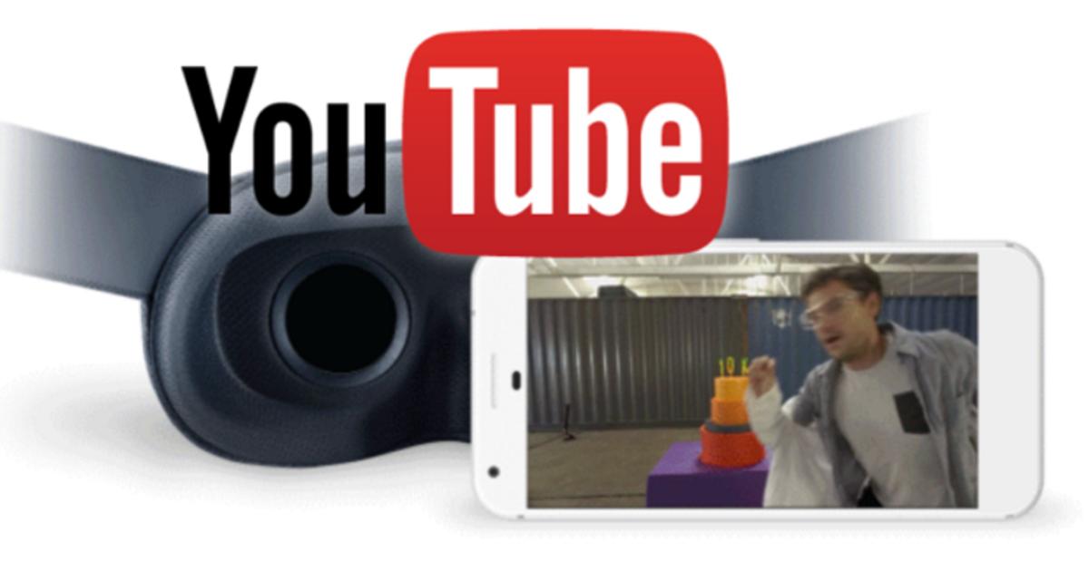 YouTube представил новый VR-формат видео с обзором на 180°.