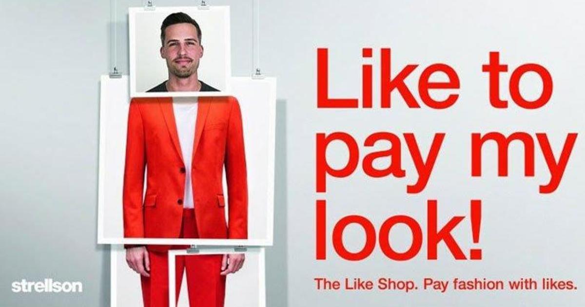 Швейцарский ретейлер позволил покупать одежду за лайки.