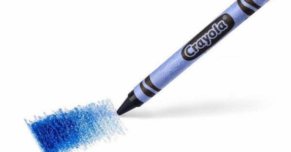 Crayola просит пользователей выбрать название для нового мелка.