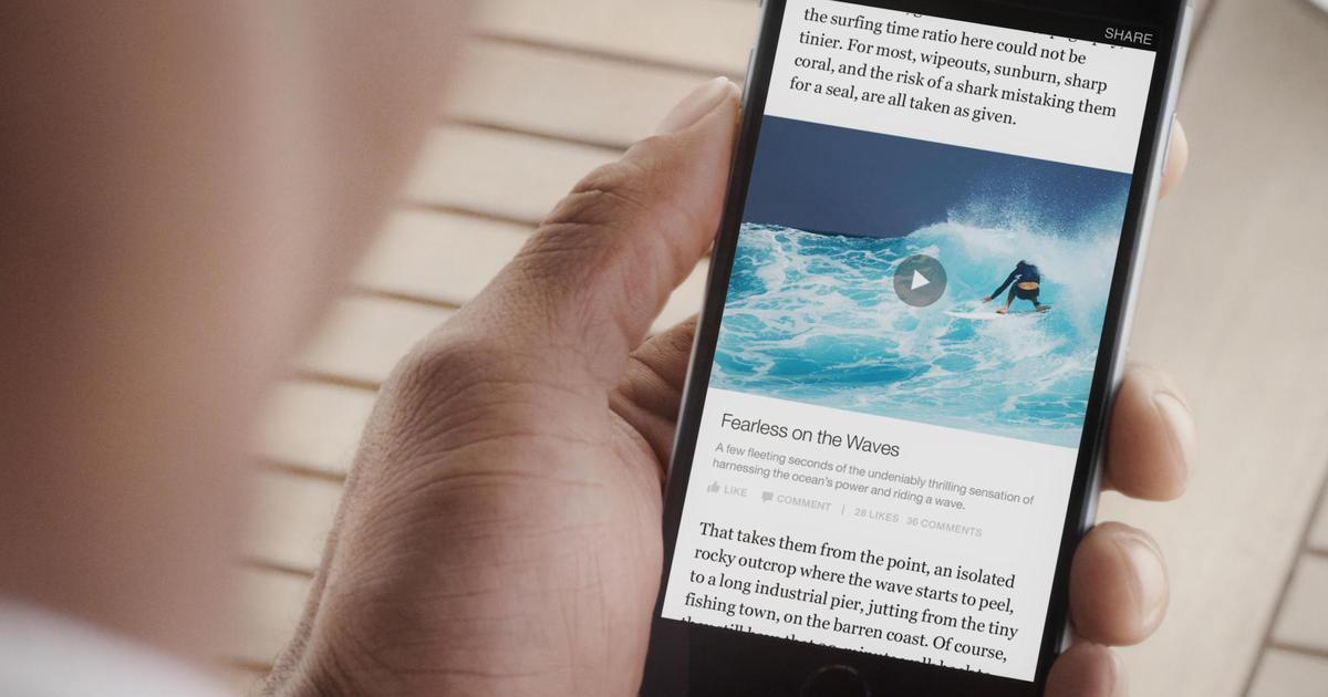 Издатели заменили изображения секундными роликами, чтобы обмануть Facebook.