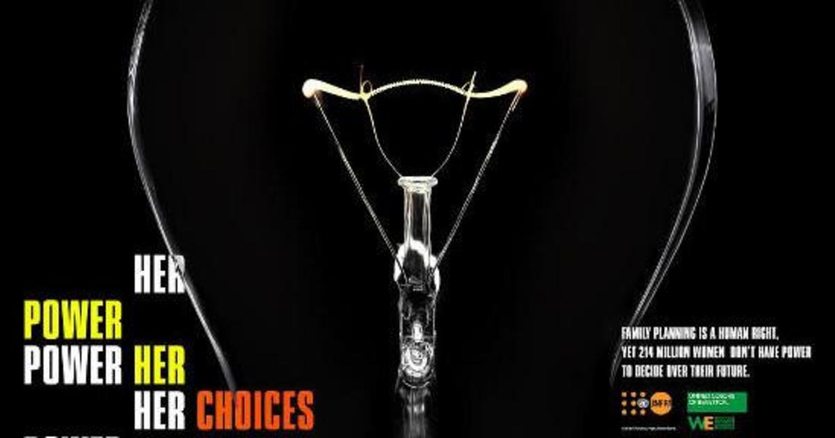 Benetton запустил кампанию по защите женщин от нежелательной беременности.