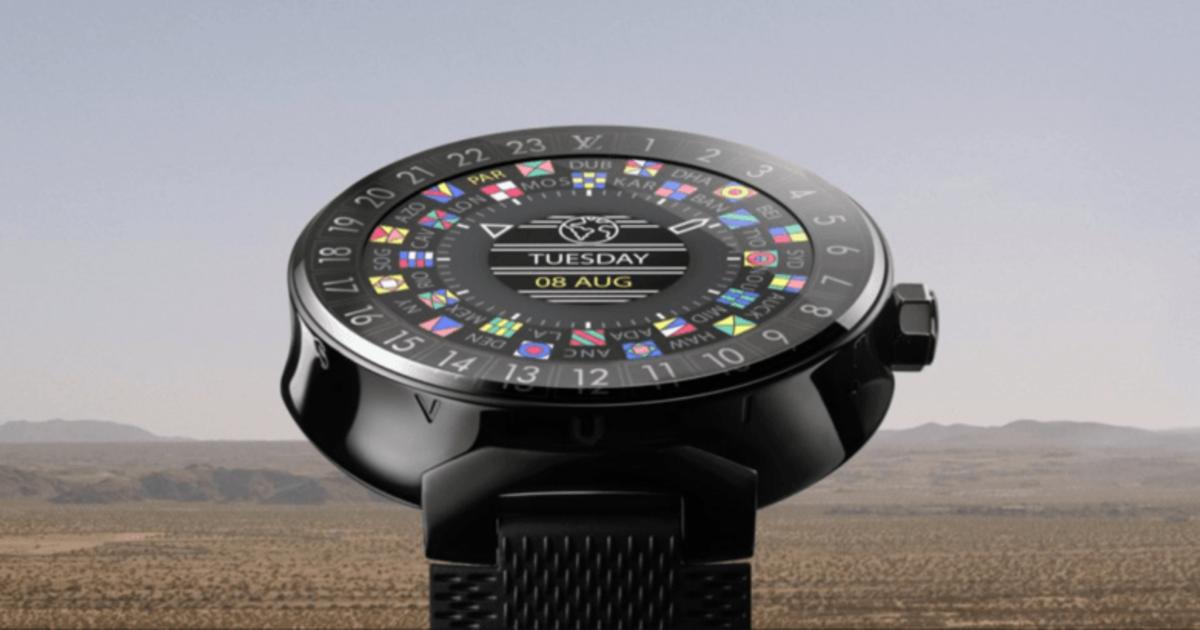 Louis Vuitton выпустил смарт-часы за $2450.