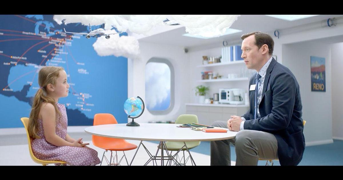 Дети спланировали и оплатили семейный отдых в кампании JetBlue.