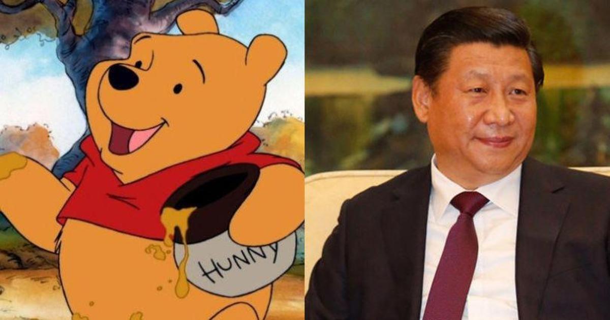 Китай запретил Вини-Пуха из-за сходства с президентом.